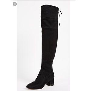 20d678a17b0 Michael Kors Shoes - Black over the knee Michael Kors Jamie Boots